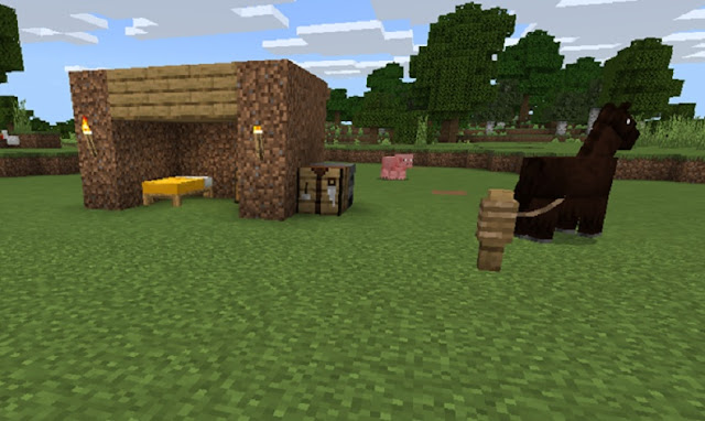Small Shelter in Minecraft
