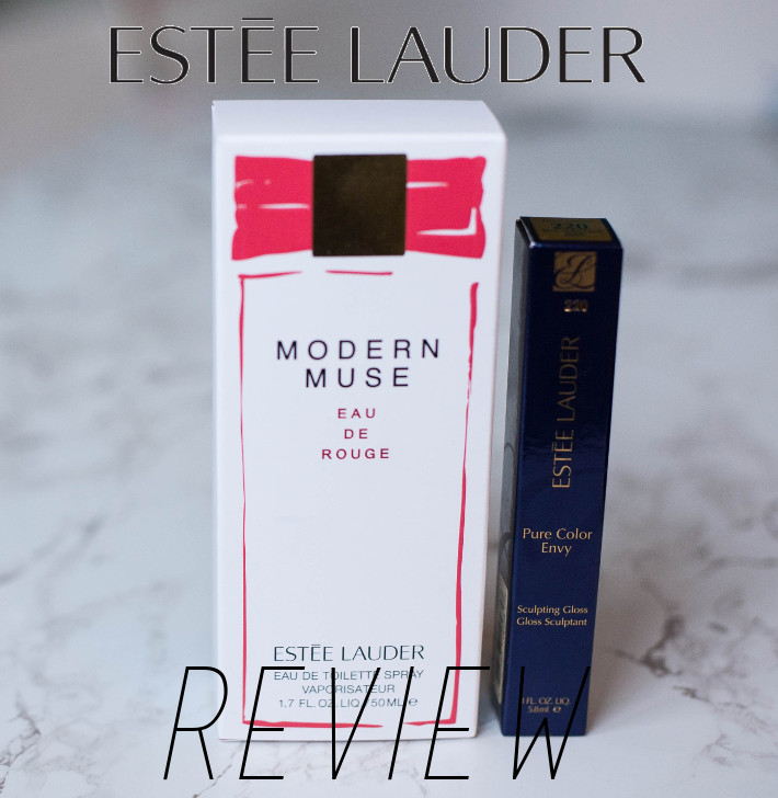 Beauty: Estee Lauder Modern Muse and sculpting gloss review