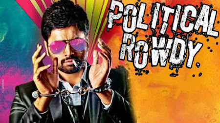 Poster Of Political Rowdy In Hindi Dubbed 300MB Compressed Small Size Pc Movie Free Download Only At worldfree4u.com