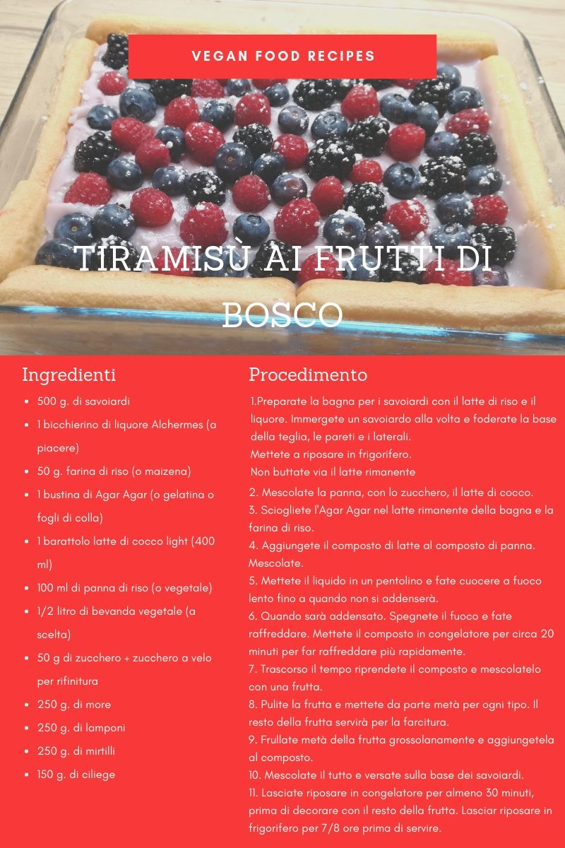 tiramisù+vegan+frutti+bosco