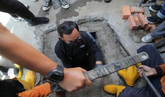 Bima Arya Masuk Gorong-Gorong, Netizen: Calon Jokowi Baru