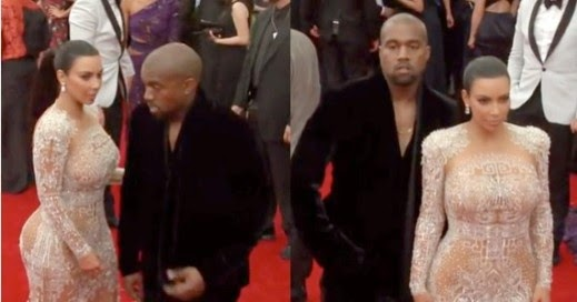 Kanye West Snubbed Wife Kim On The Met Gala Red Carpet?