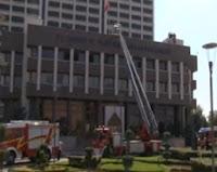 Enerji ve Tabi Kaynaklar Bakanlığında Yangın