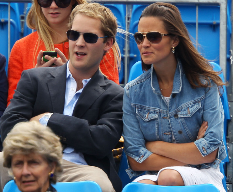George Percy y Pippa Middleton |Torneo de Queen's de Londres - duelo entre Andy Murray y Janko Tipsarevic