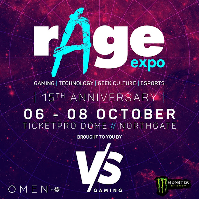 rAge is All Set to Celebrate it's 15th Year of Awesome Gaming @rAgeExpo #EscapetoPlanetrAge