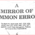 A Mirror of Common Errors