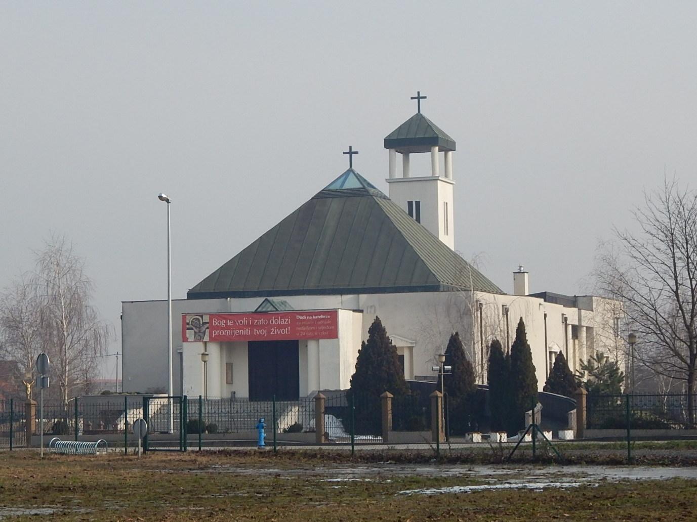 Crkva Rođenja Marijina Sanci Savica Zagreb Crkva U Hrvata