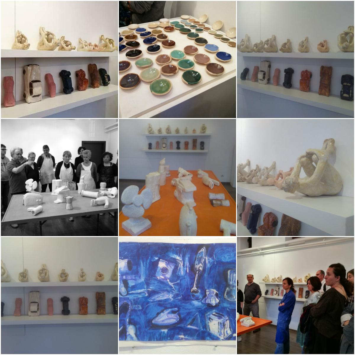 Naturalezas muertas 2 curso rea de escultura escuela for Curso ceramica madrid