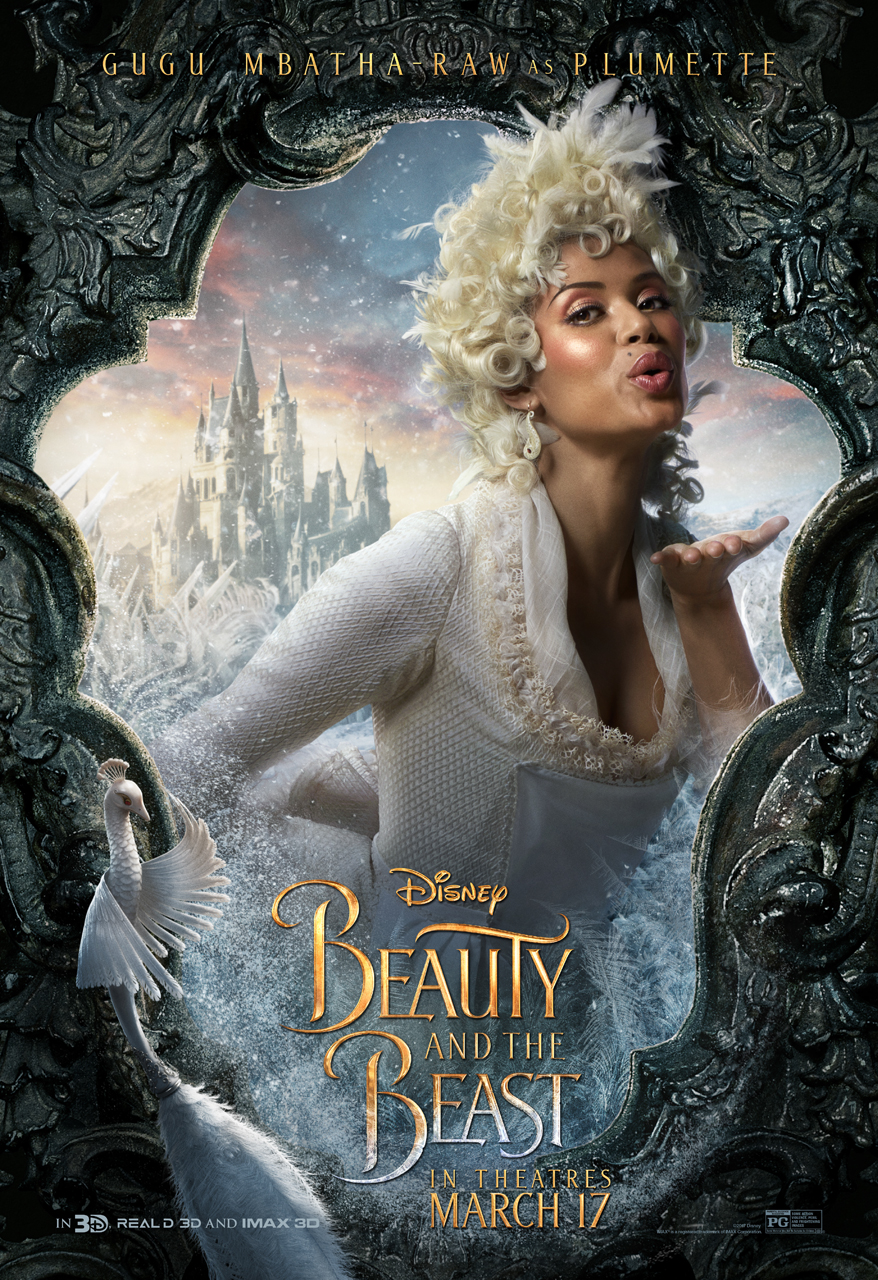 Sasaki Time: Beauty and The Beast Character Poster - Plumette