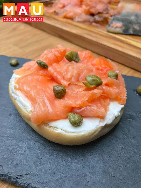 salmon gravalaz ahumado curado mau cocina de todo recetas facil