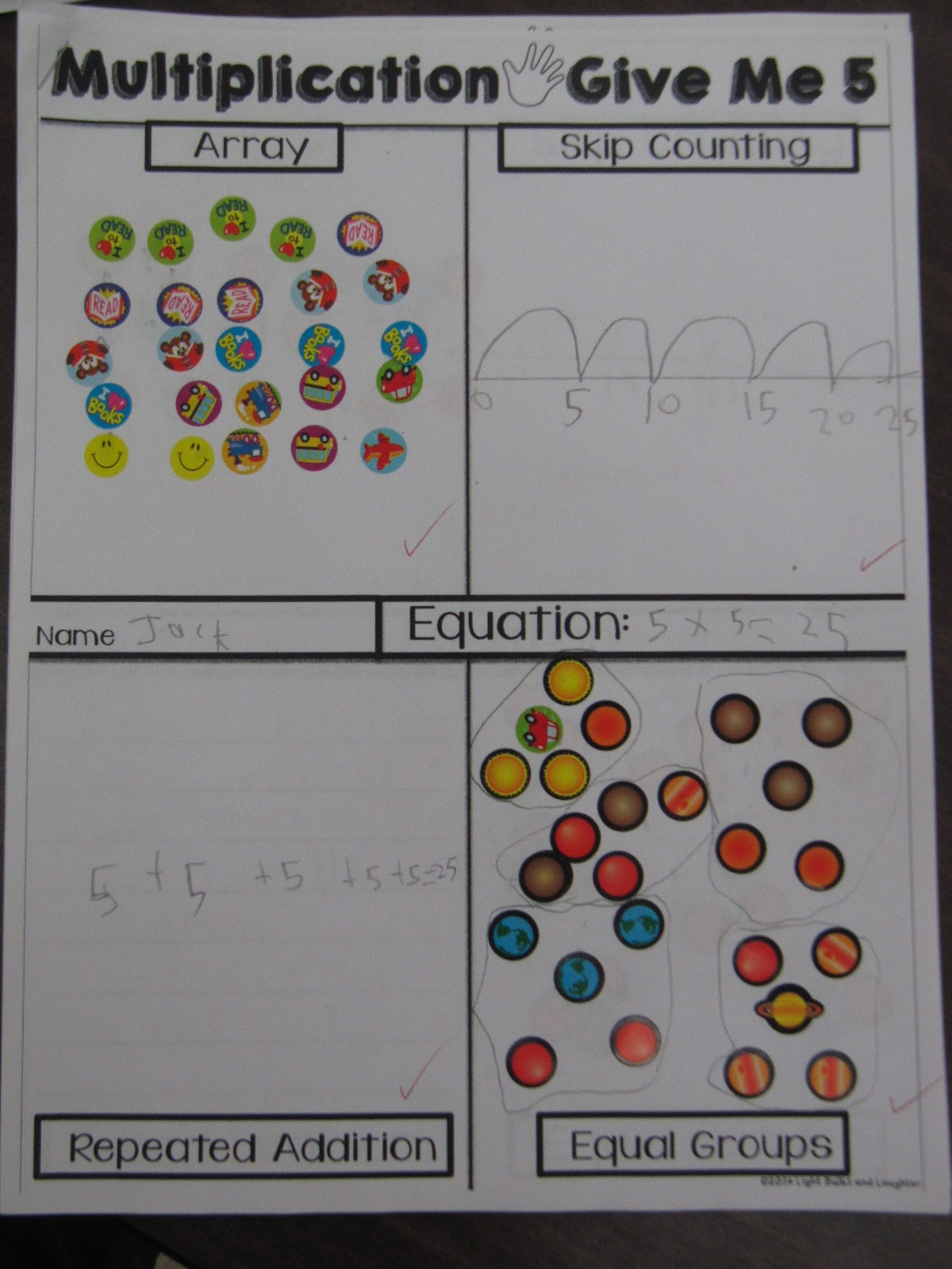 Mrs Squire S Grade 3 Class 3s Multiplication