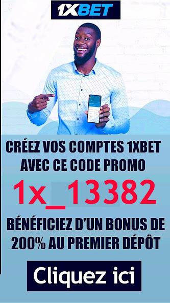 Prend ton bonus de 60 000 FCFA sur 1XBET