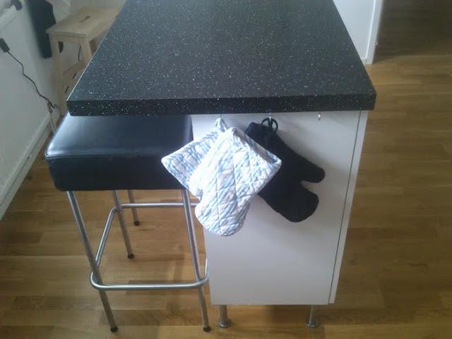Black Kitchen Stools Ikea