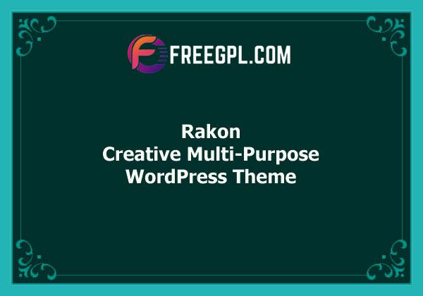 Rakon - Creative Multi-Purpose WordPress Theme Free Download