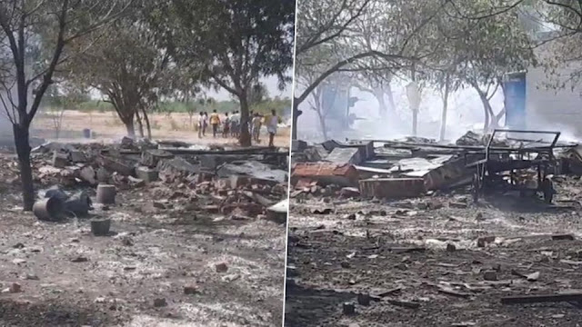 Accident in Tamil Nadu - 11 dead, 36 injured in fire in Virudhunagar's firecracker factory