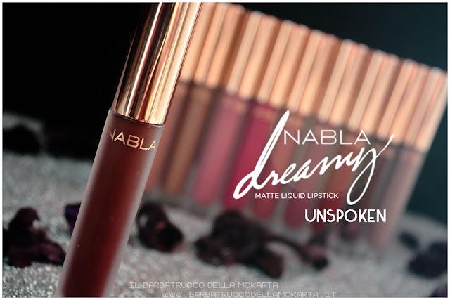 Unspoken Dreamy Matte Liquid Lipstick rossetto liquido nabla cosmetics