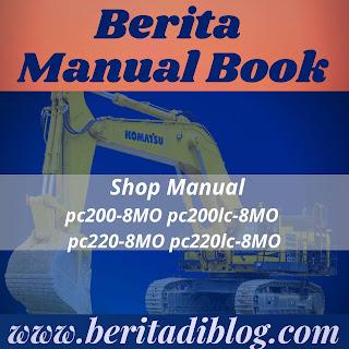 Shop Manual PC200-8MO pc200lc-8MO pc220-8MO pc220lc-8MO