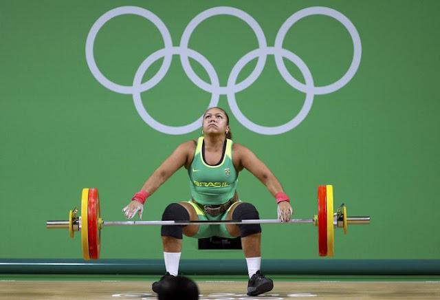 Levantamento de peso Rio 2016