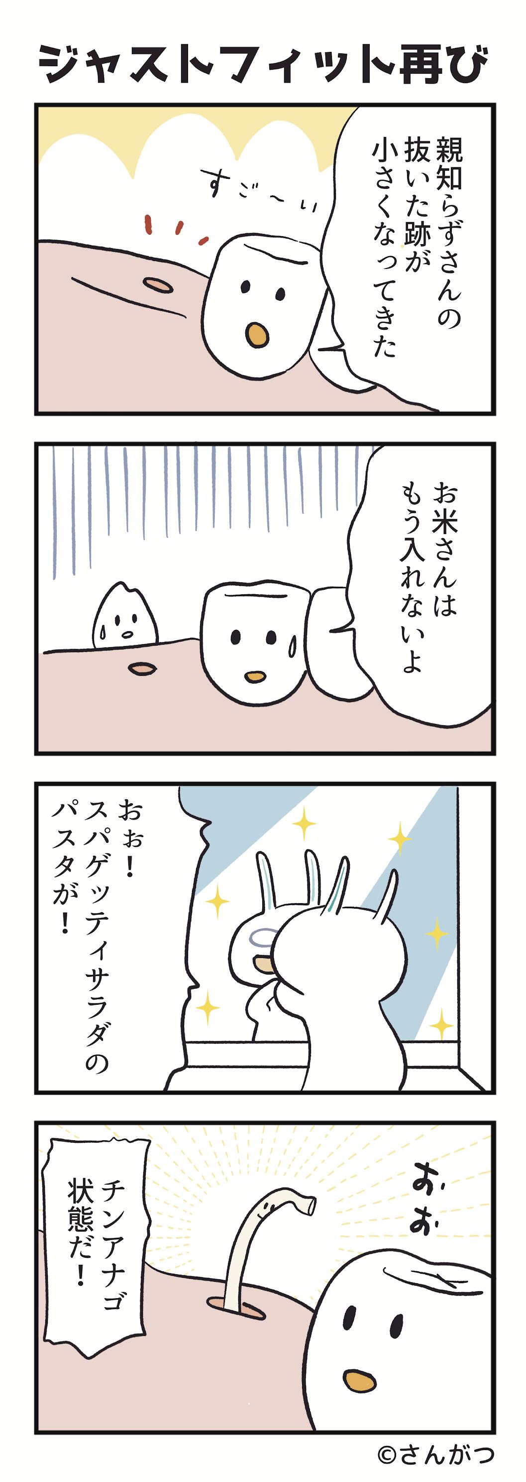 歯科矯正の漫画10「親知らずの抜歯・・・ジャストフィット編」