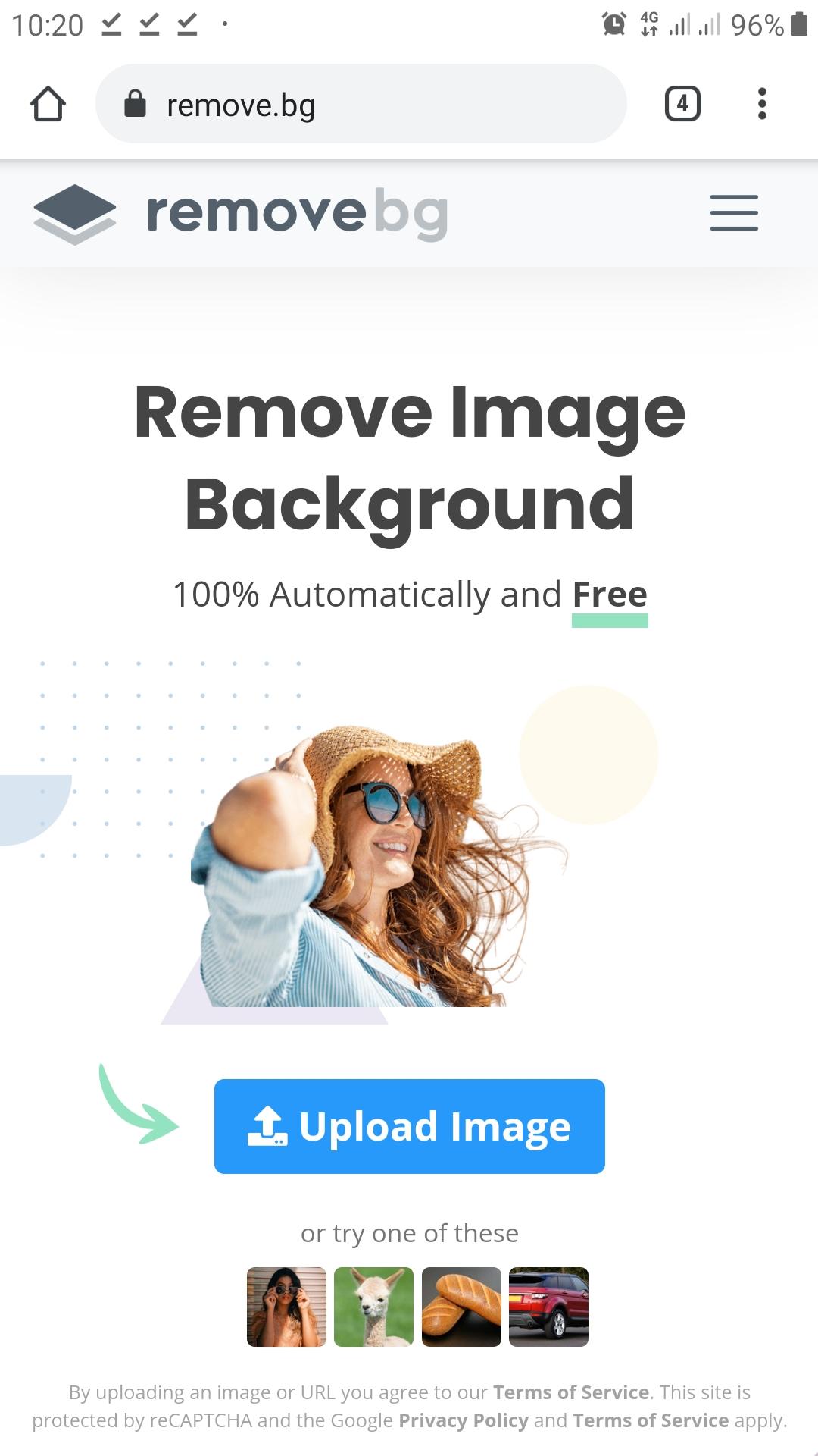 اليك اقوى موقع لإزالة خلفيات الصور و ربح المال من هذه الخدمة