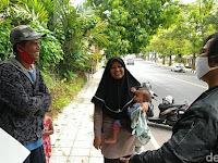 Sudah Sampai di Bandung, Sekeluarga Mudik Jalan Kaki dari Gombong Dikarantina