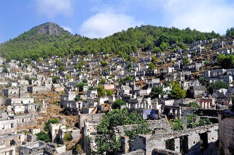La ciudad fantasma de Kayakoy | Turquia