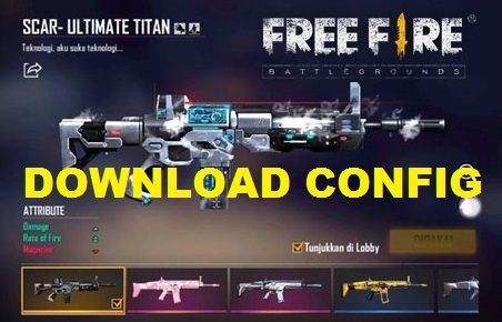 Download Config Scar Titan Gratis 2021 Terbaru
