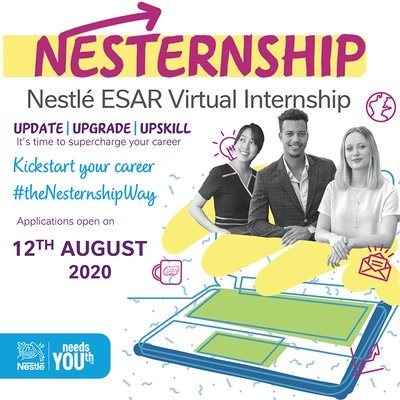 100 Nestlé Virtual Internships 2020 for Young Leaders