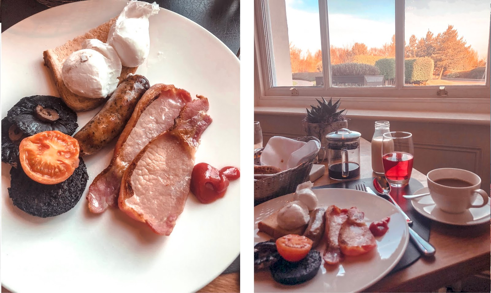 Seaham Hall Spa Hotel - Full English Breakfast