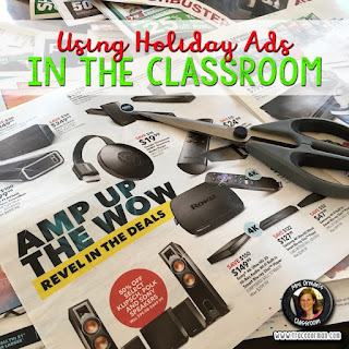 Using Holiday Ads in the Classroom  www.traceeorman.com