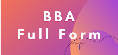 BBA full meaning
