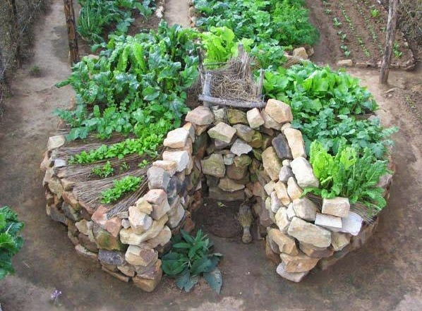 How Build Keyhole Garden
