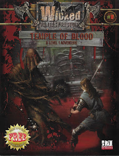 Cover of Temple of Blood