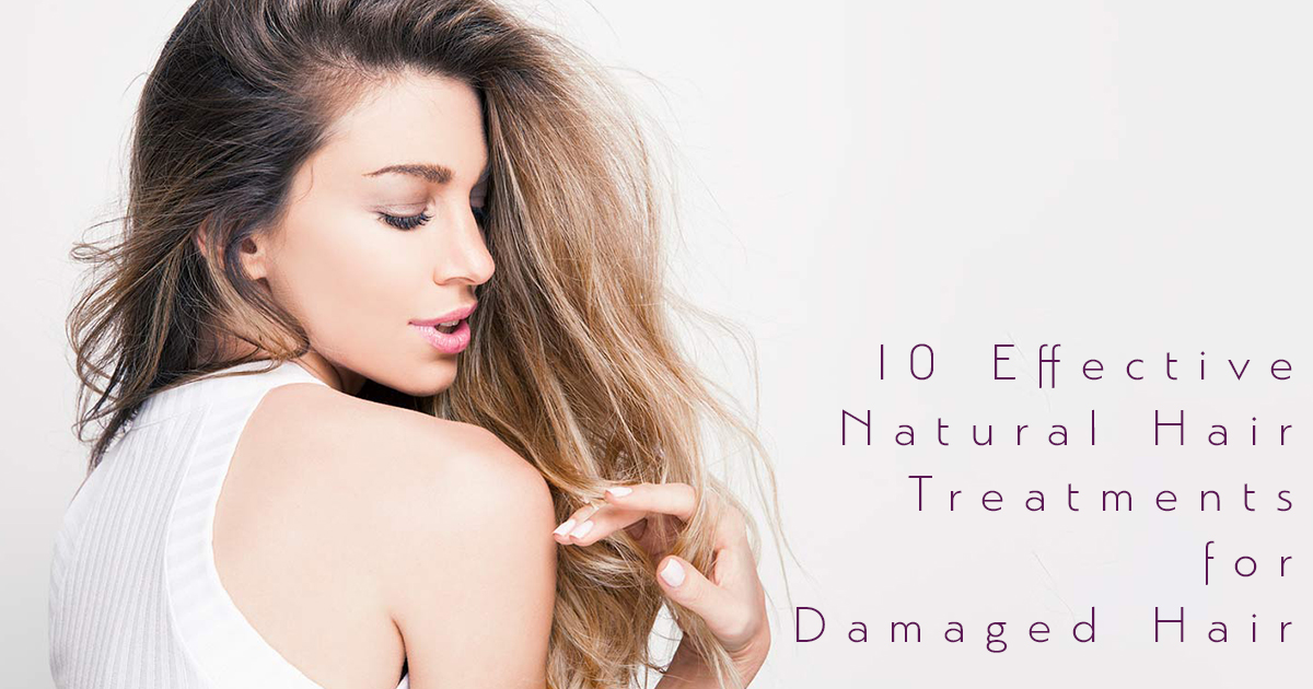 natural hair treatments for damaged hair