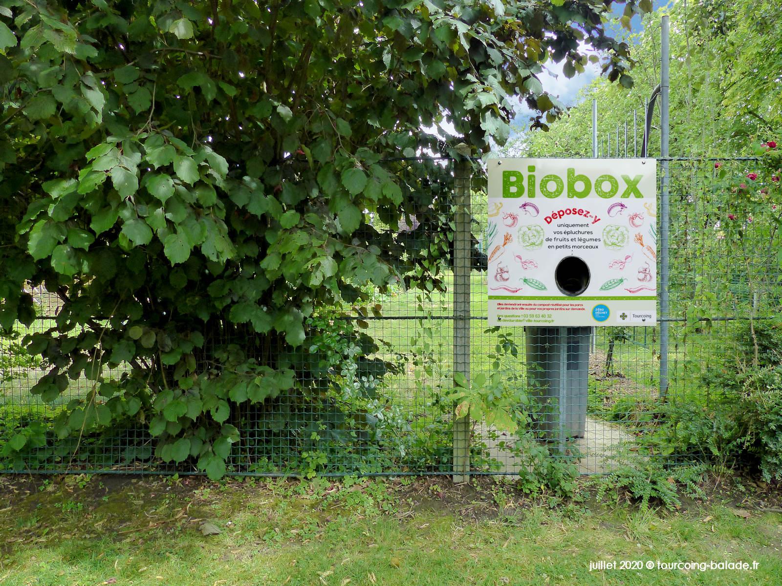 Biobox du Verger Municipal de Tourcoing, 2020