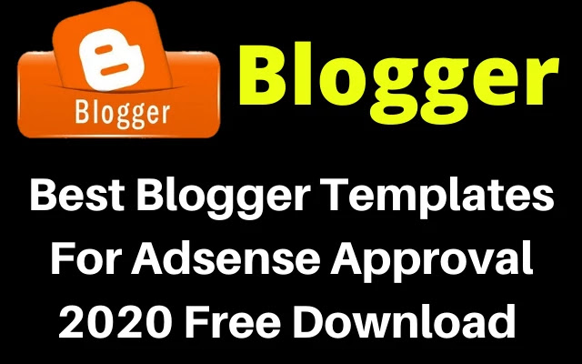 blogger template for adsense approval, adsense approval blogger template, adsense friendly blogger template