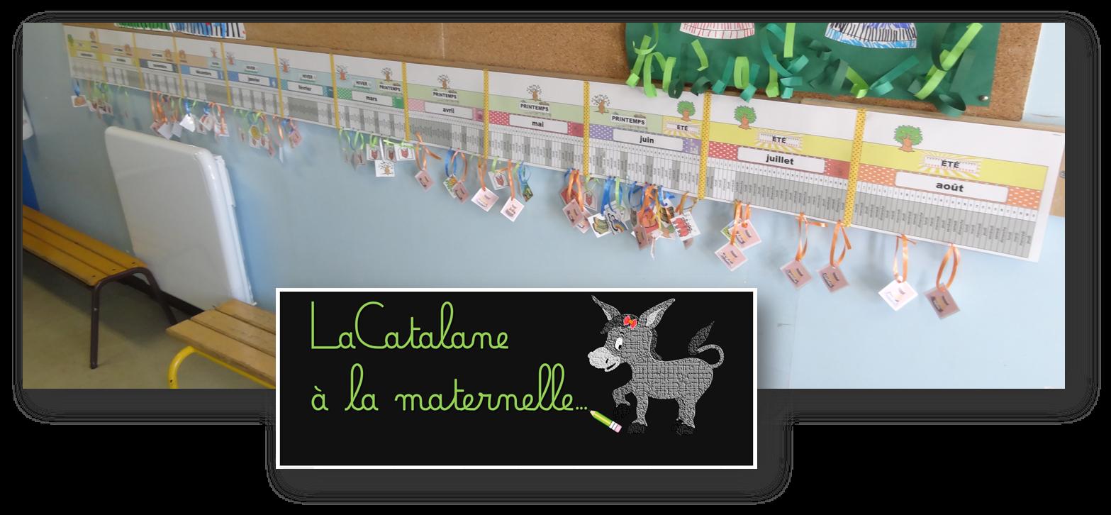 Lacatalane à La Maternelle La Poutre Du Temps Montessori 2017