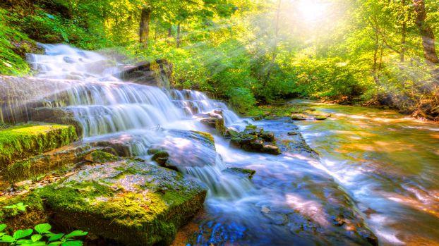 موضوع حول دعوة صديق في الريف، فقرة تصف جمال الطبيعة