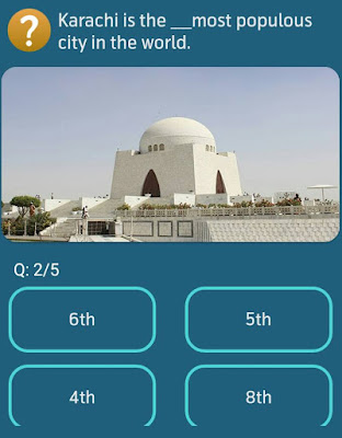 Karachi is the__most populous city in the world? MY TELENOR