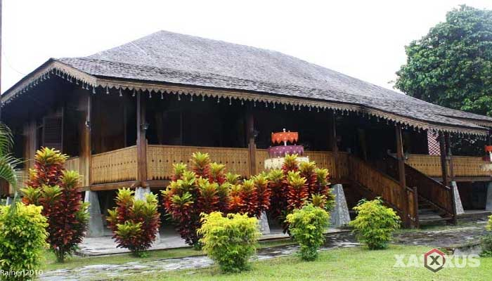 Gambar rumah adat Indonesia - Rumah adat Bangka Belitung atau Rumah Panggong