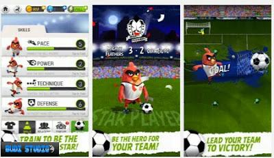 Pada kesempatan kali ini aku bagikan game android terbaru  Download Angry Birds Football Mod Apk (Unlimited Money)