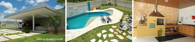 Sectores de residencia contemporánea en Minas Gerais, Brasil