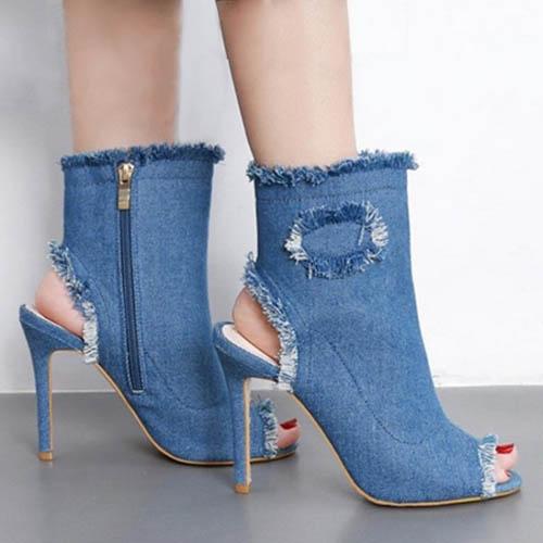 Penampilan Casual Sepatu Hak Tinggi Stiletto 093f00fe9a