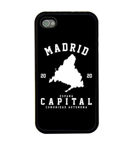 Funda iphone - Madrid - Diseño en blanco