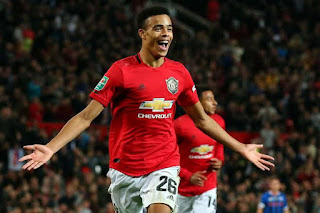 Greenwood Revealed he celebrated Manchester United last Europa League trophy in my parents' living room