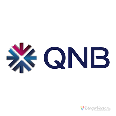 QNB Bank Logo Vector