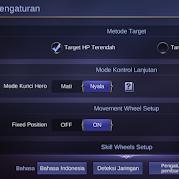Pengaturan Control Mobile Legends Agar Lebih Nyaman