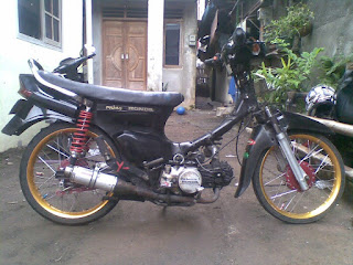 Modifikasi motor honda legenda