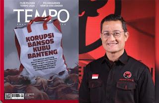 TEMPO Bongkar 'Korupsi Bansos Kubu Banteng', Netizen: Jualan Pancasila, Ternyata Garong