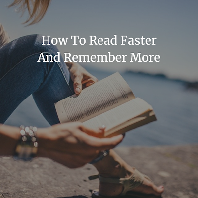 How To Read Faster And Remember More PDF book